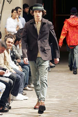 Junya Watanabe | Spring 2005 Menswear Collection | Style.com