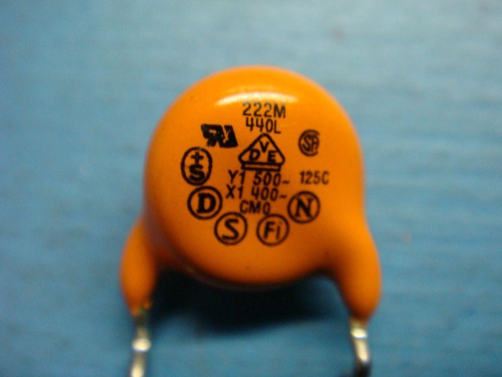 10 Cera Mite 440l 0 0022uf 2200pf 500v 760v 20 Radial Ceramic Disc Capacitor Vishay Capacitors Ceramics 10 Things