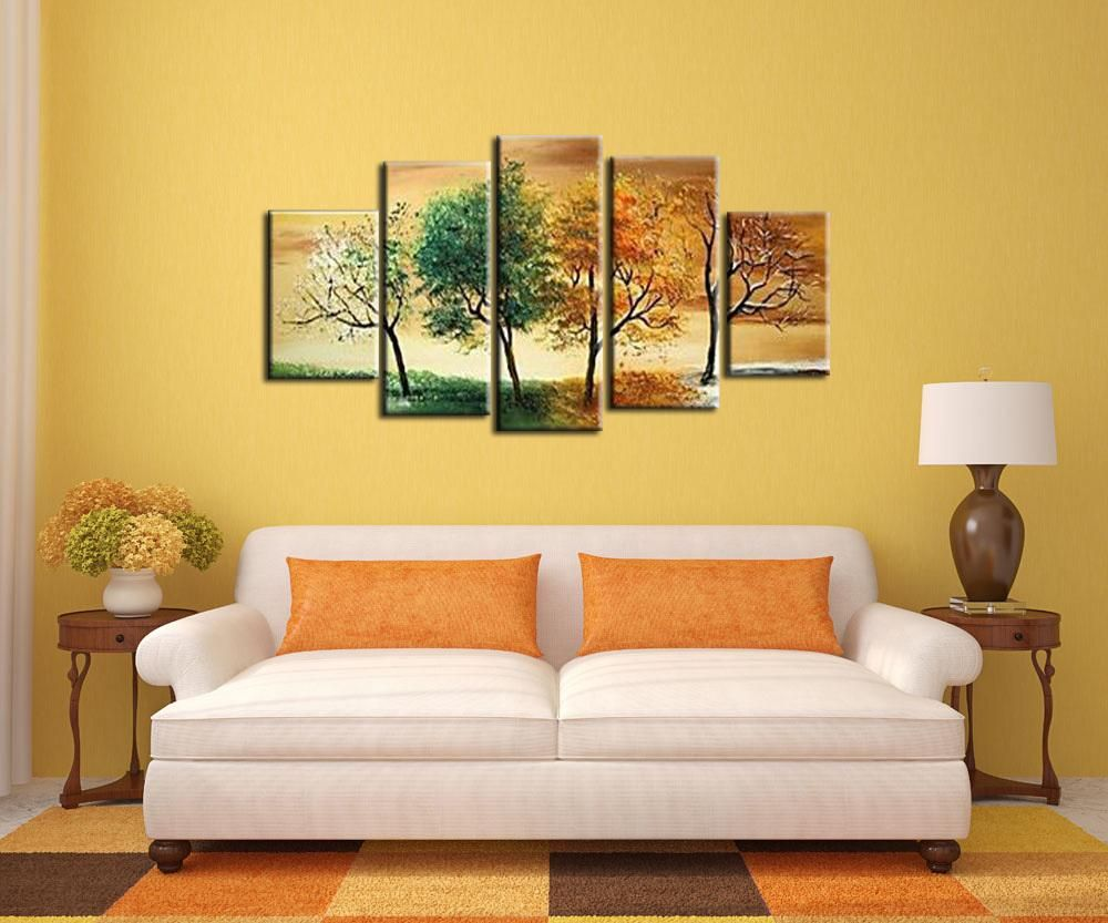 Wall goods oil painting Manual Arts Composition 5 Thick bottom ...