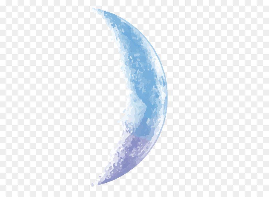 Moon Euclidean Vector Vector Sky Blue Half Moon Drawing Illustrations Illustration Free Clip Art