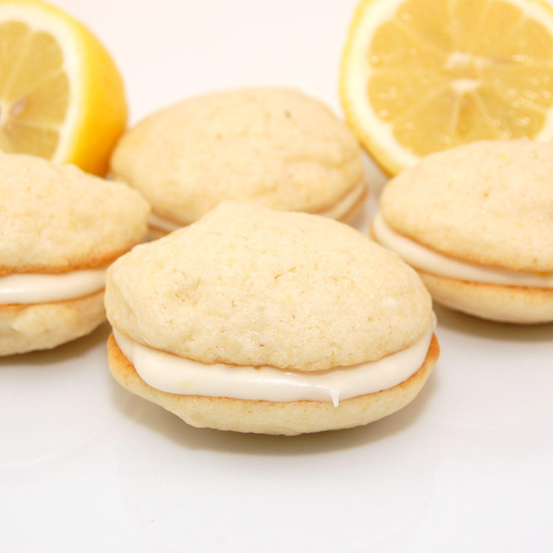 Lemon Whoppie Pies