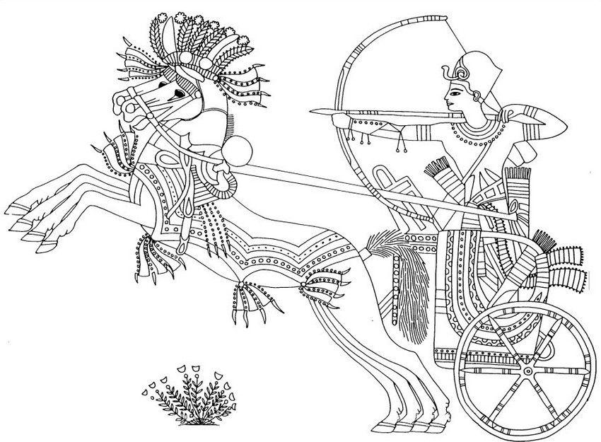 Ägypten: Toutankhamon im Krieg gegen Nubie | Coloring | Pinterest ...