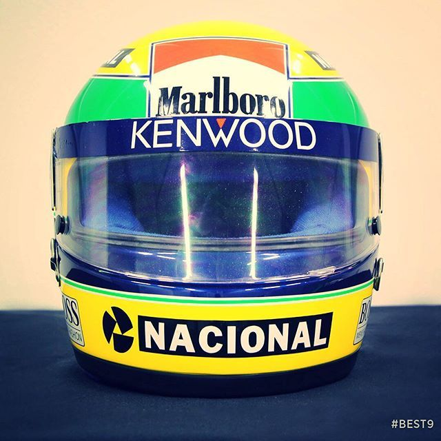 Has there been a more iconic helmet in F1 history? Ayrton Senna's distinctive yellow crash helmet is probably the most recognised and loved lid of all time.