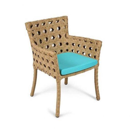 Cadeira Roseta para Área Externa Fibra Sintética Estrutura ...