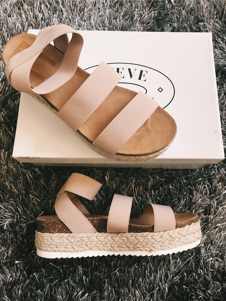 Flatform Sandale mit sportlichen Trägern | Steve Madden KIMMIE -. s h o e s. - #Eben...,  #Eb... #shoes