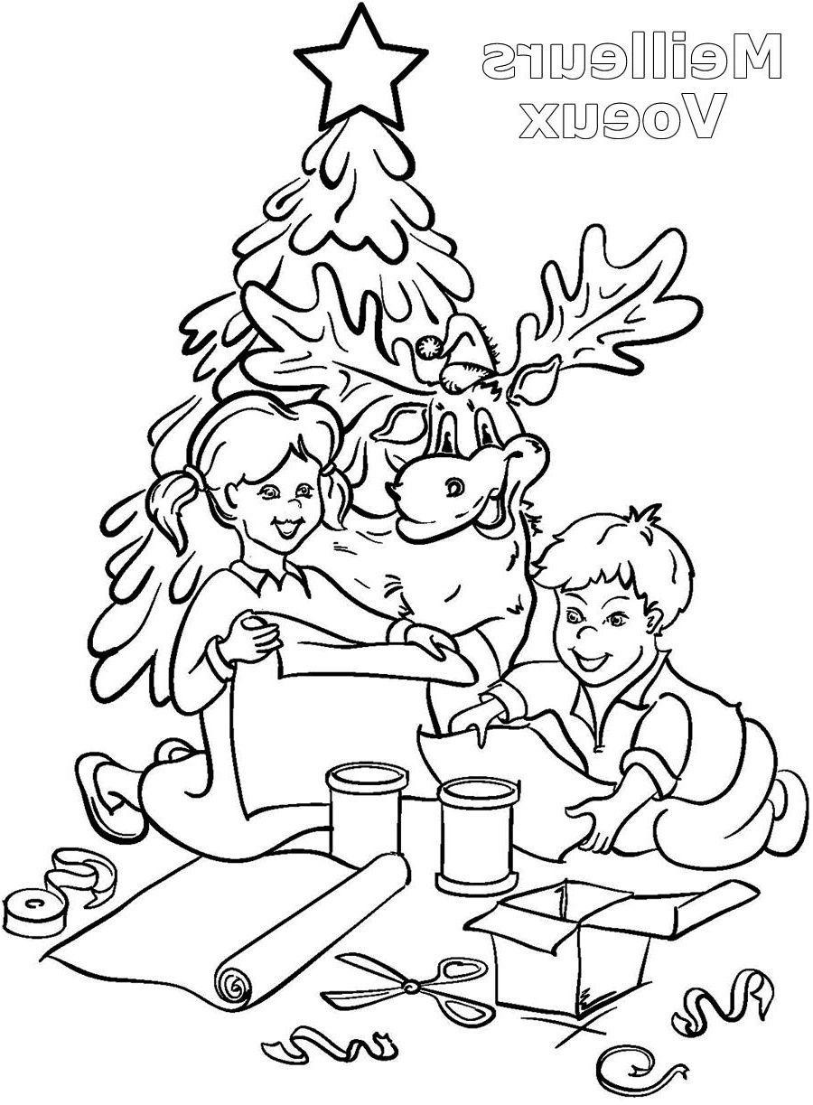16 À Couper Le souffle Coloriage Enfant Noel Images  Coloriage