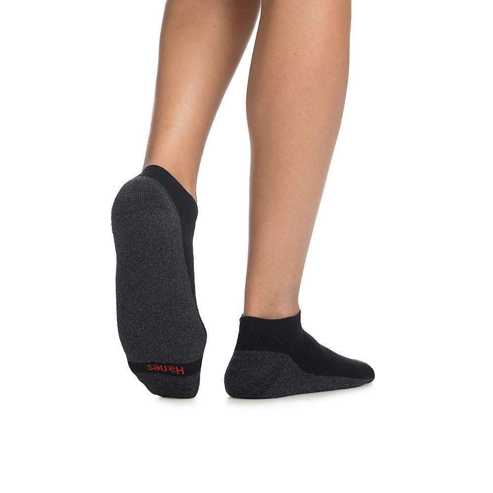 Hanes Men's ComfortBlend® Max Cushion Low Cut Sock 6-Pack