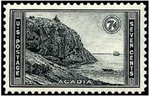 US Stamp Gallery >> Acadia National Park