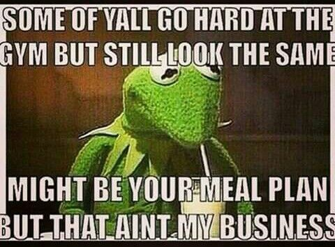 Unfortunately this is me, June 1st (today) I'm back on tho with my meal plan