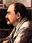 I remember being read Rudyard Kipling by my father when I was just eight years old.  No wonder I grew up with a love for reading.