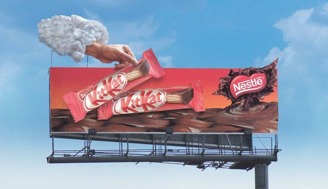 nestle billboards awesome billboards and outdoor advertising
