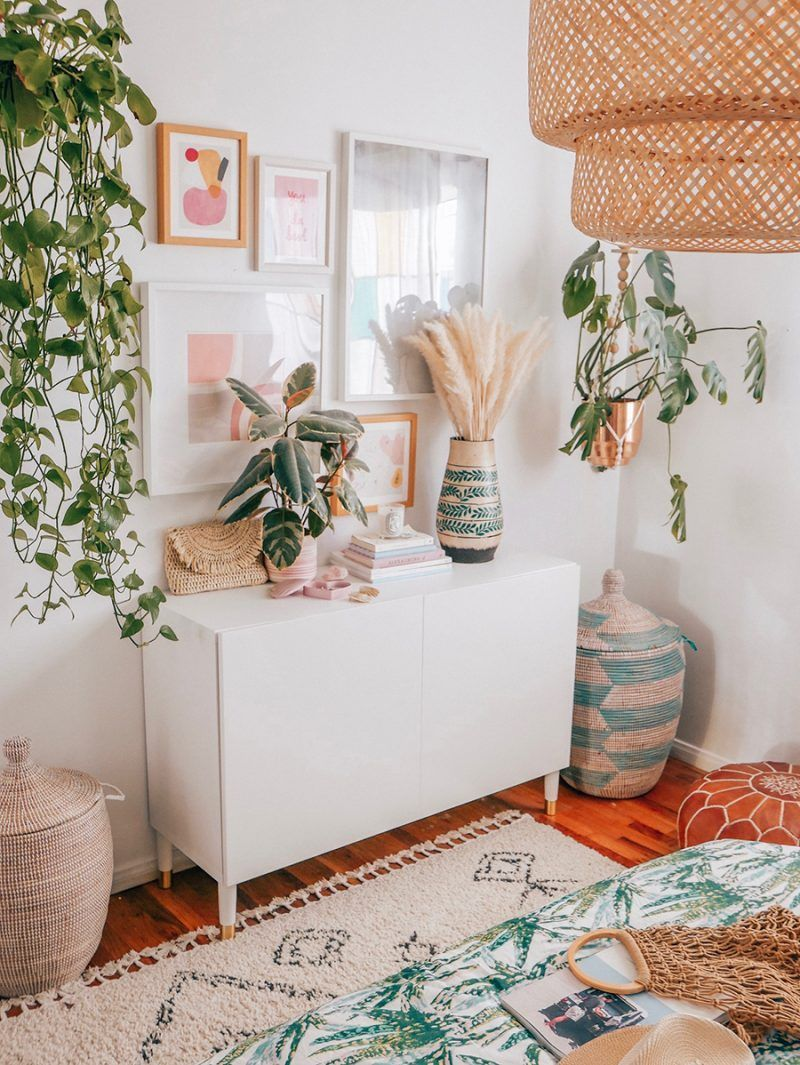 A Tropical Bedroom Makeover Tropical bedrooms, Tropical