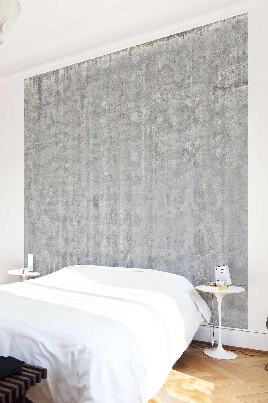 Carta da parati quadrata Concrete Effect Wallpaper