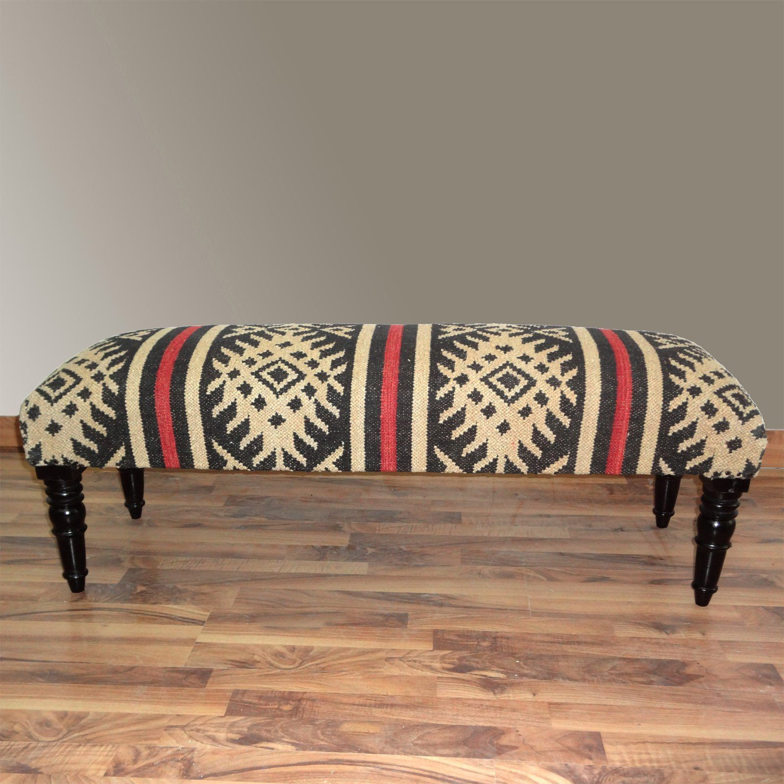 Global Chic Seats: Zirara Wooden Bench.