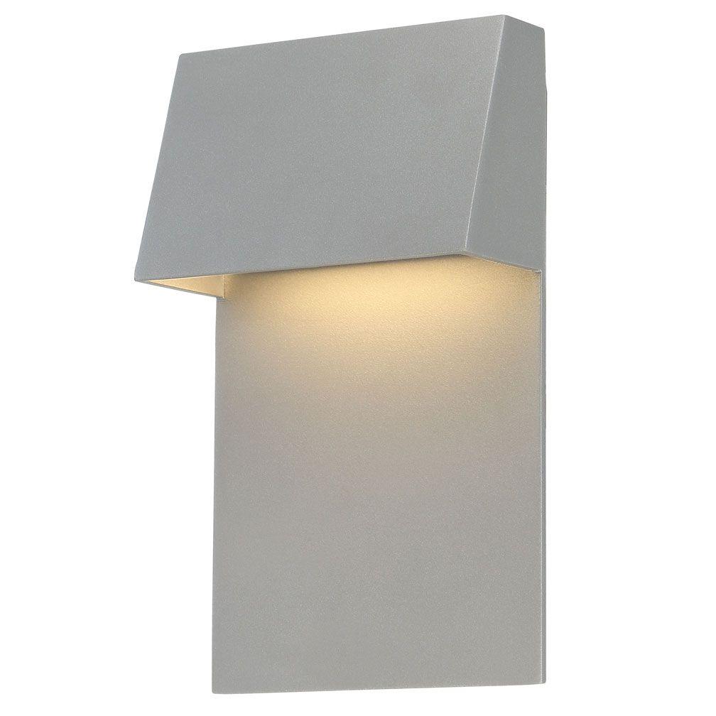 Zealous outdoor wall light dweled by wac lighting at lightology