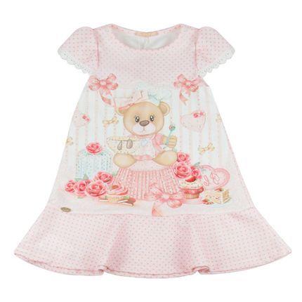 Vestido-Poa-Ursinha---Rosa---Petit-Cherie | Kids and parenting ...
