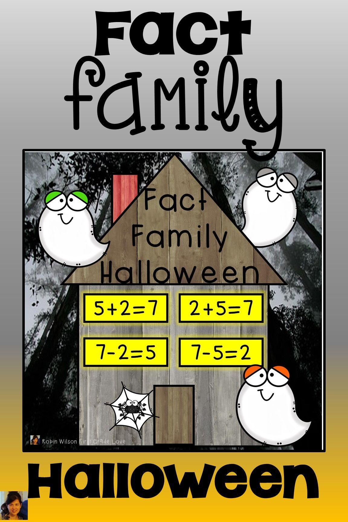Fact Family Halloween