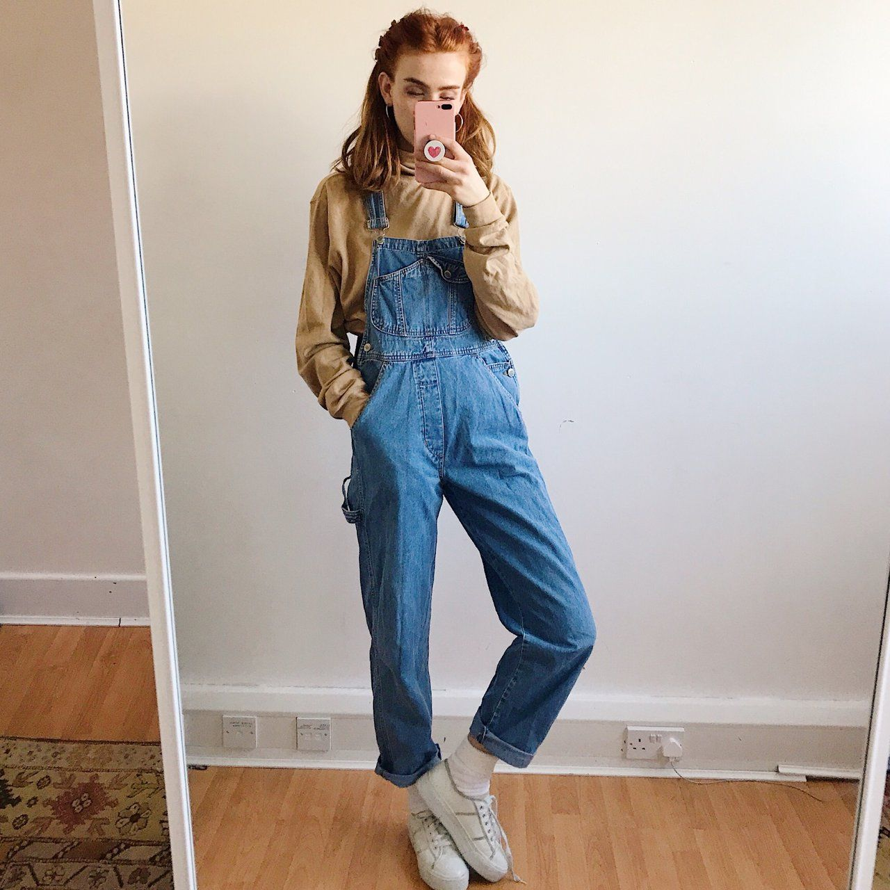Gorgeous 90s Vintage Denim Dungarees The Perfect Fitted But Depop Vintage Denim Clothes Retro Outfits