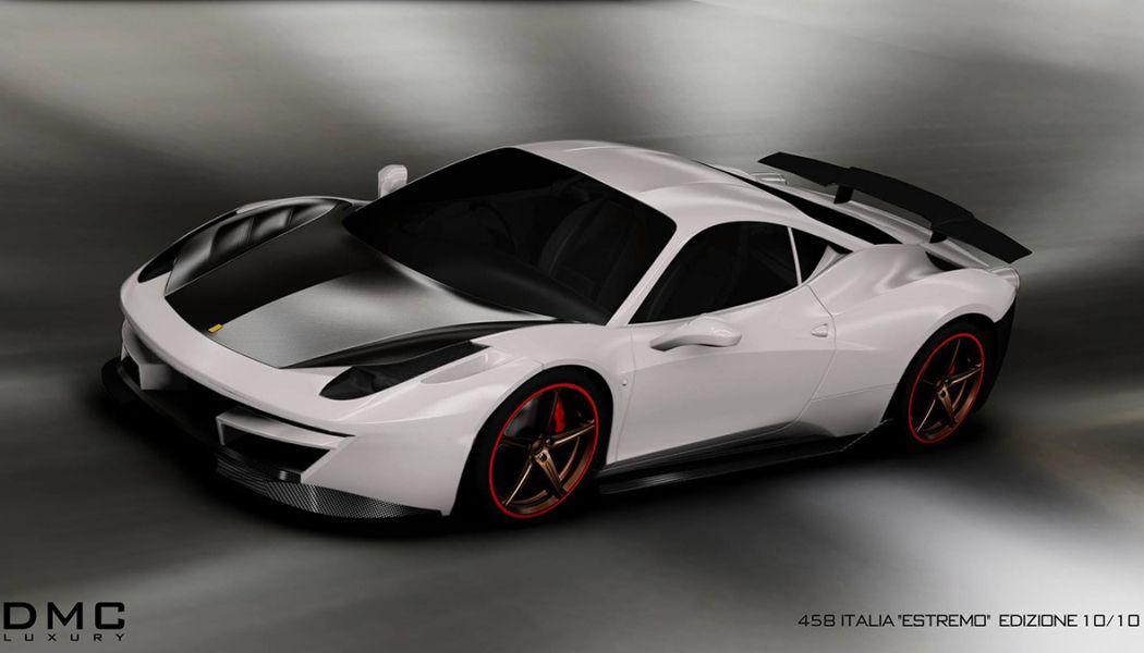 """DMC unveils their Ferrari 458 """"Monte Carlo"""" Visual Upgrade Kit #newferrari"""
