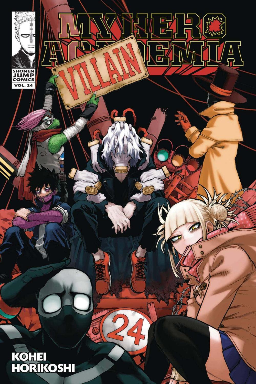 My Hero Academia Villains Manga Edition Manga Covers Anime Anime Printables