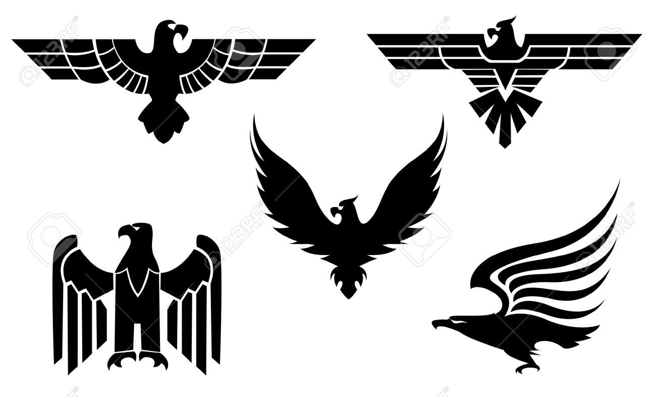 6352332 eagle symbol isoliert auf wei f r tattoo design 6352332 eagle symbol isoliert auf wei f r tattoo biocorpaavc Gallery