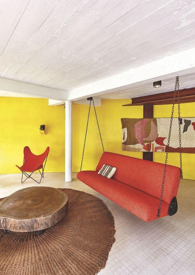 Maison de famille colorée réalisée par un architecte Salons and