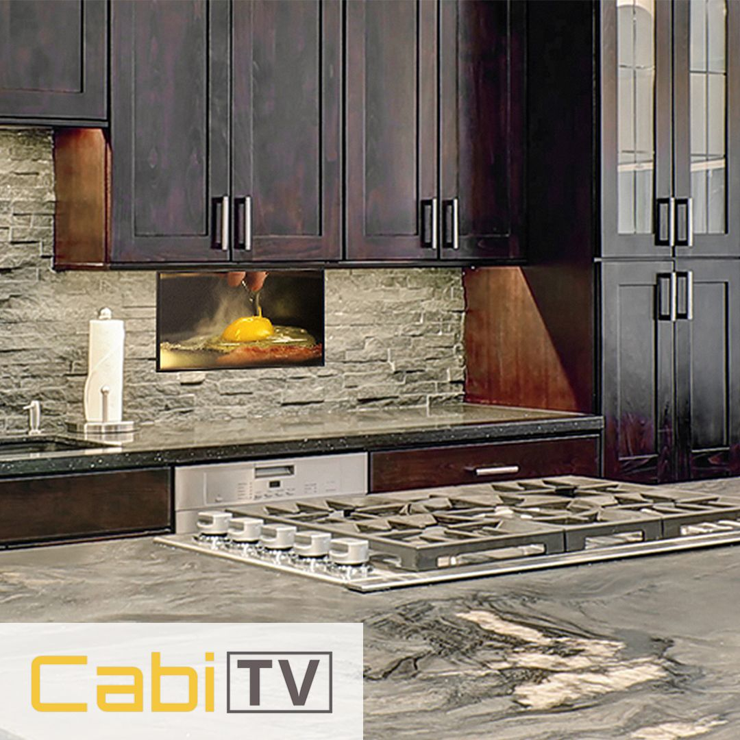 Give Your Kitchen A Twist With Cabitv 100 Cabinet Tv You