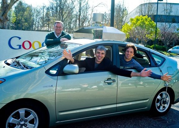 Google Self-Driving Car--Nevada just issued the World's First license for a self-driving vehicle to Google on May 7.