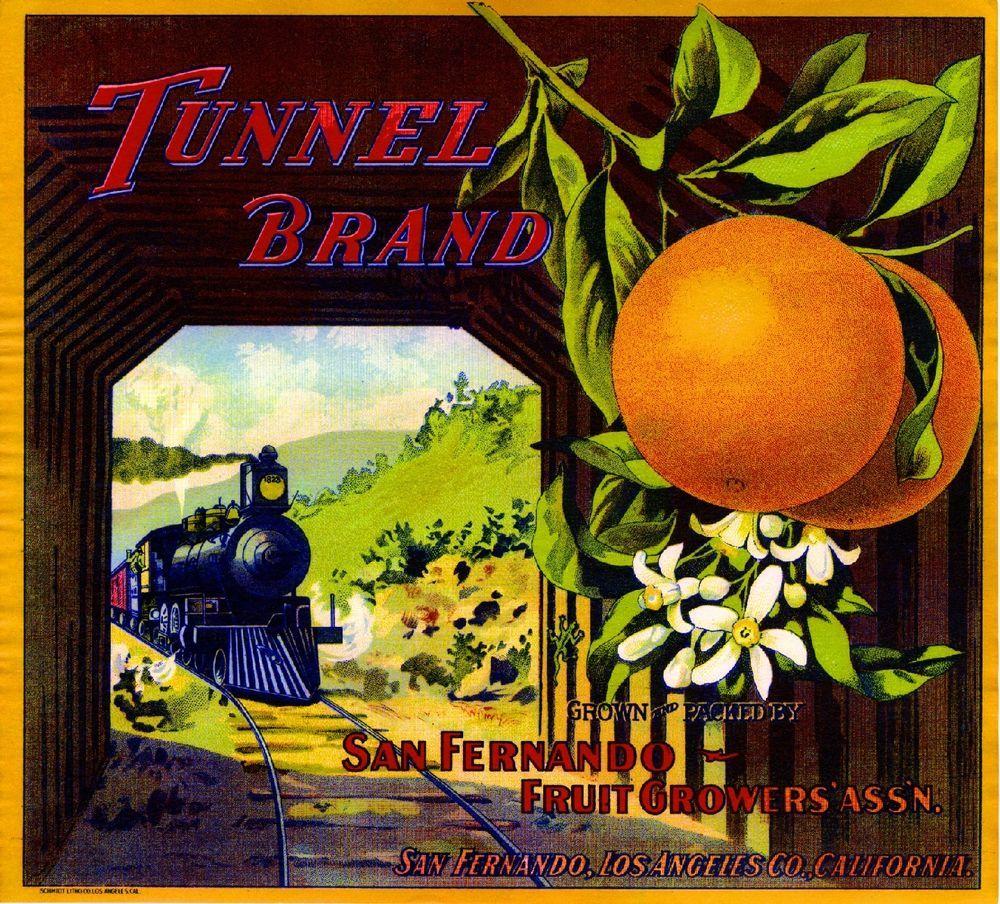 Upland San Bernardino Pronghorn Deer Orange Citrus Fruit Crate Label Art Print