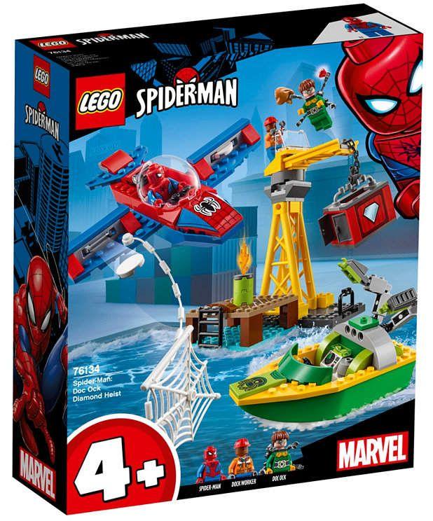 Lego Spider Man Doc Ock Diamond Heist 76134 Reviews Home