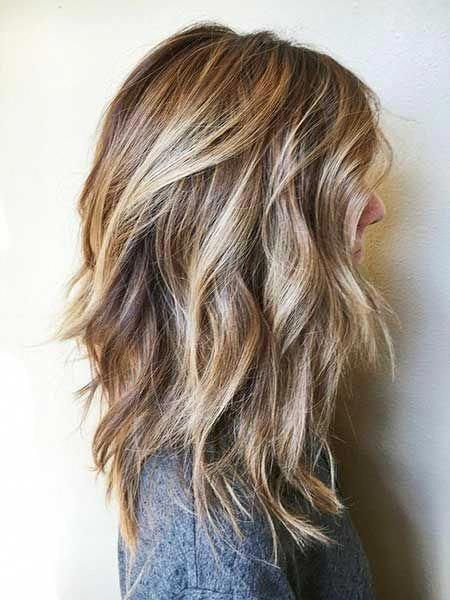 Nowadays Mid Length Haircuts Are Very Trending Shoulder Length Layered Hairstyles Long Bob Hairstyles Bob Hairstyles For Round Face Bob Hairstyles For Thick