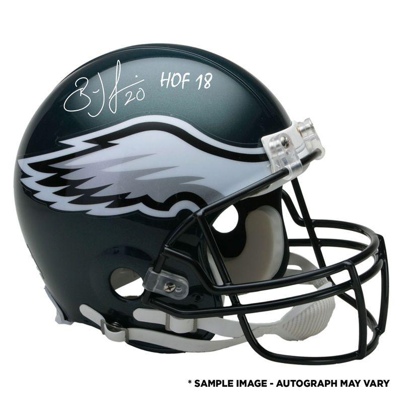 b8bddeafbd3 Brian Dawkins Philadelphia Eagles Fanatics Authentic Autographed Riddell  Authentic Pro-Line Helmet with