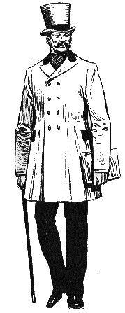 A partir de finales del siglo XIX y principios del XX, se alarga el pantalón hasta alcanzar las medidas que se toman en la actualidad.