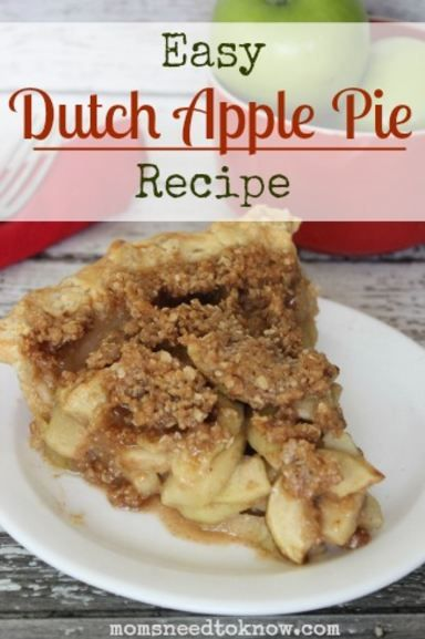 Is there anything better than apple season?  This dutch apple pie recipe is so easy to make and will fill your house with the most delicious smells!