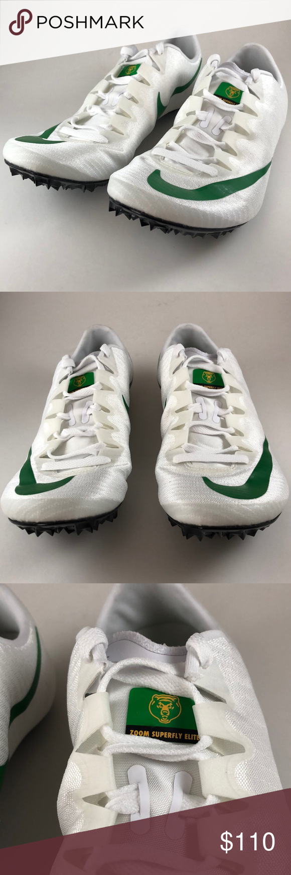 Nike Zoom Superfly Elite Baylor Bears Show love to your