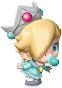 Baby Rosalina Mario Kart Video Game Decor Mario And Luigi