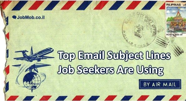 📧 Awesome Email Subject Lines Job Seekers Are Using For Results - how to send resume by email
