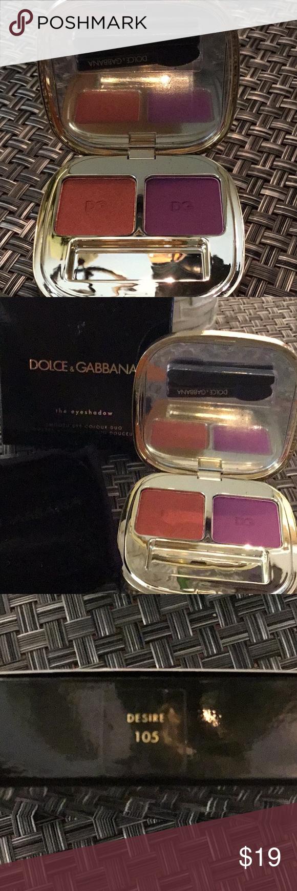 802ca36ff20 Dolce   Gabbana Eyeshadow Duo Desire 105 NWT NEW Dolce   Gabbana eyeshadow  duo Desire  105. Never used. Dolce   Gabbana Accessories
