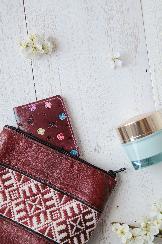 Womens Pocket Wallet Business Card Case Women Minimalist Wallet Small Organizer Leather Credit Card Holder Credit Card Holder Pattern Leather Credit Card Holder Leather Card Wallet