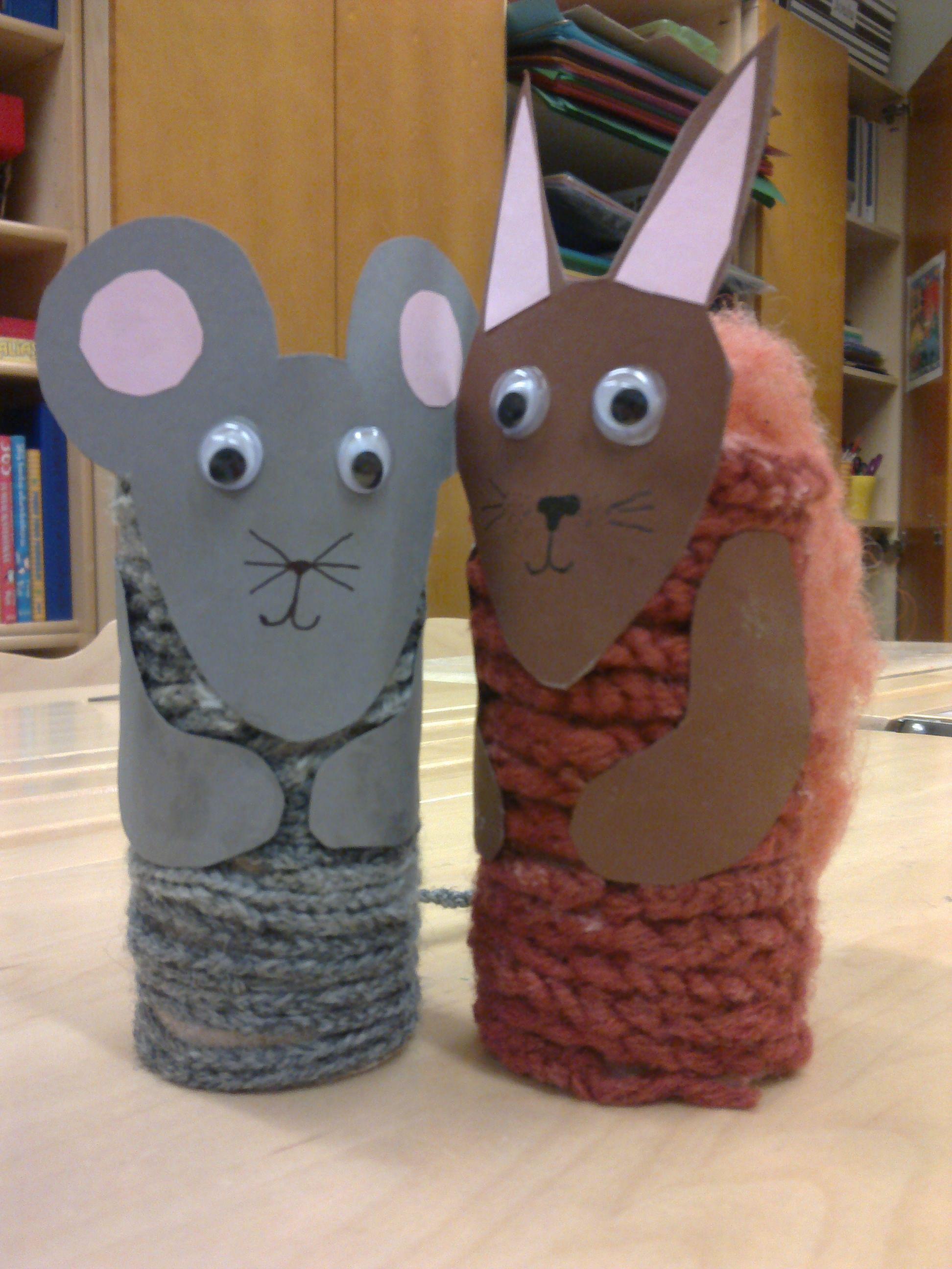 Sormivirkkausketjusta hiiri ja orava