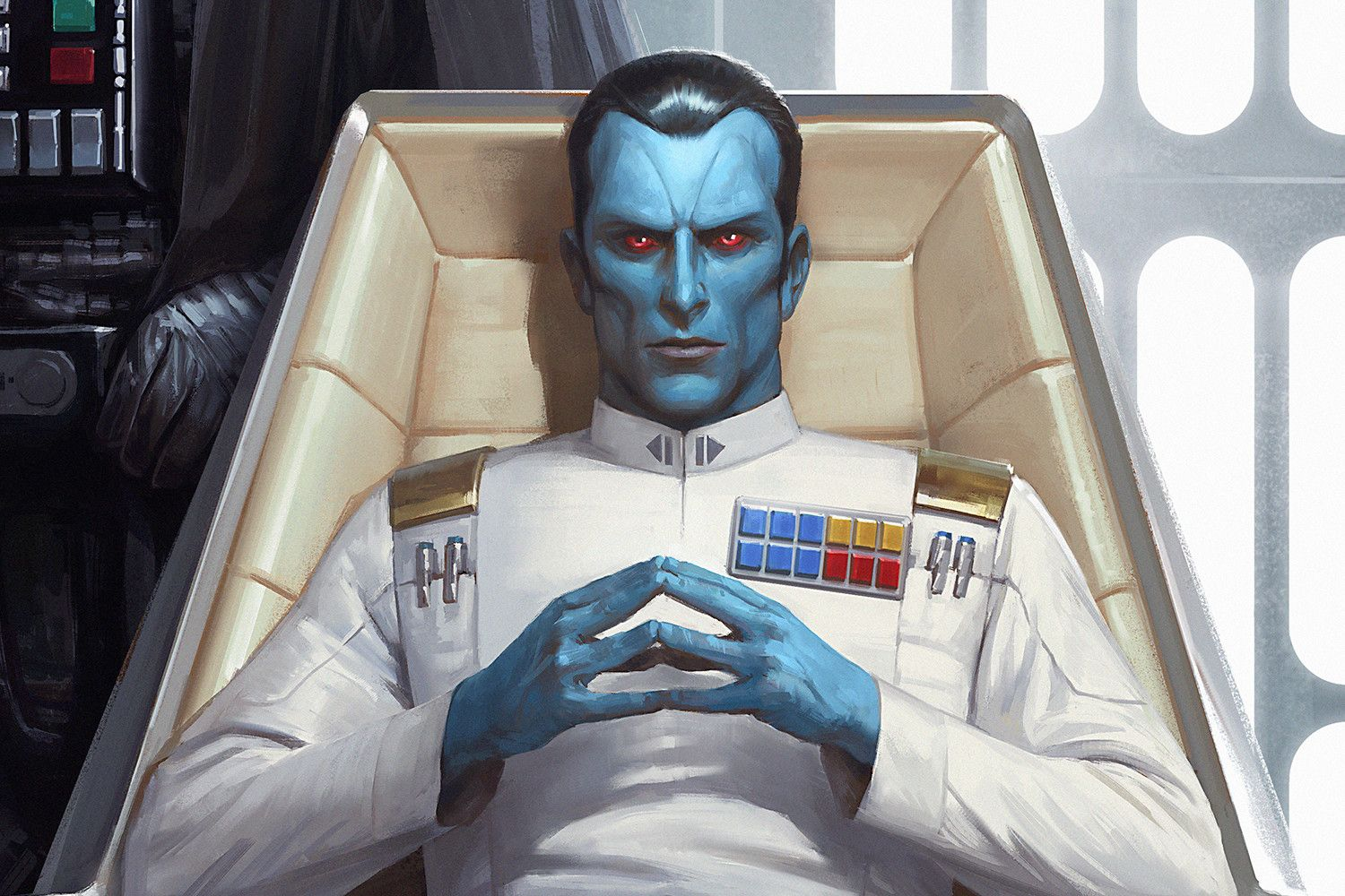 Grand Admiral Thrawn | Star wars characters, Star wars artwork, Star wars  books