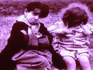The Licorice Kid and Little Jean from Judex, 1916.