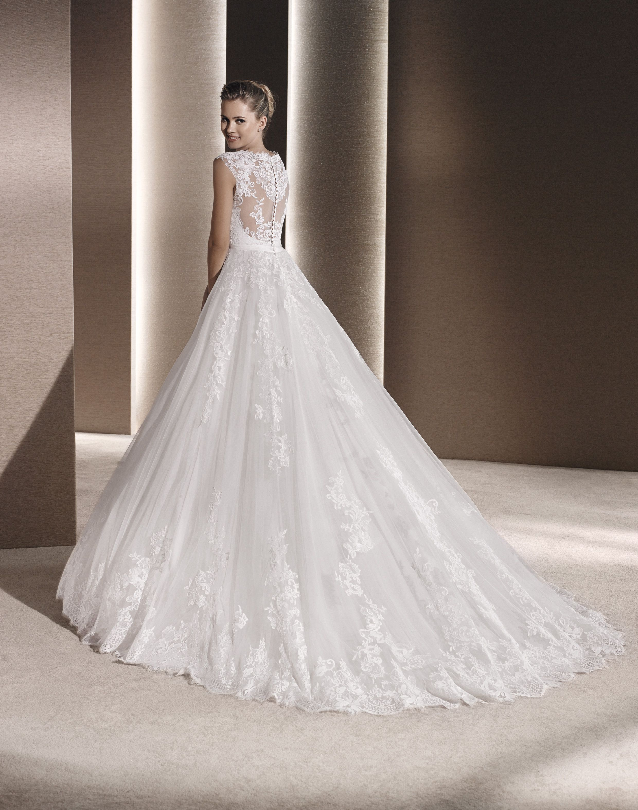 Meet our newest designer gown raven from the collection by