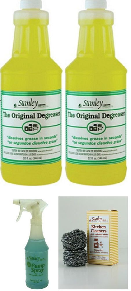 stanley home products original degreaser