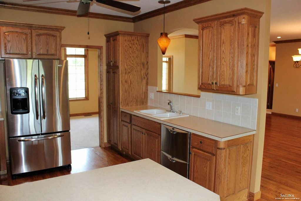 Single arch cabinets in honey oak (With images) | Kitchen ...
