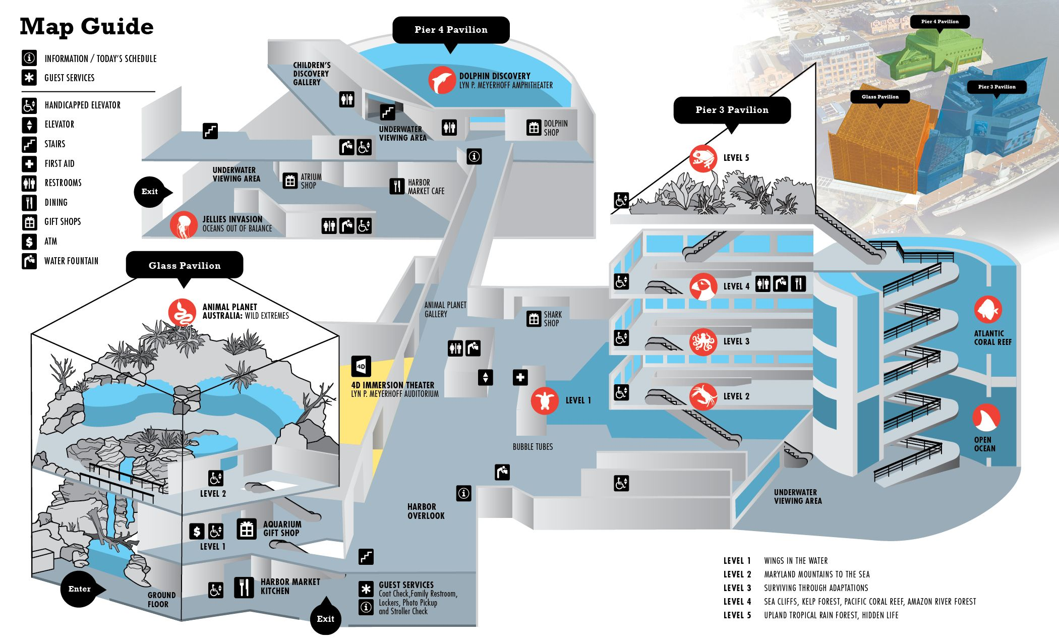 Baltimore Aquarium Map national aquarium maps baltimore   Google Search | Wedding Center