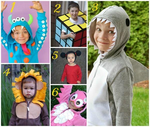 237ff1f21e Costumi di carnevale per bambini fai da te | Creatività | Costumi di ...