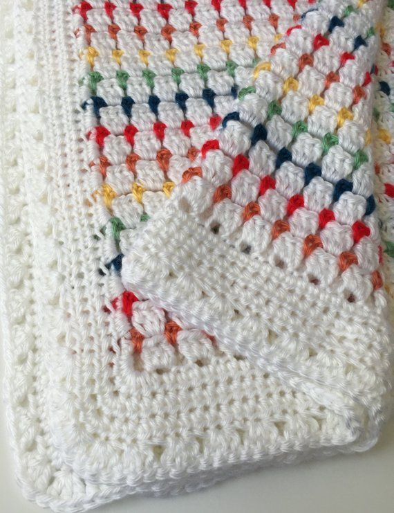 Crochet Baby Blanket Pattern Baby Afghan Pattern Crochet Baby