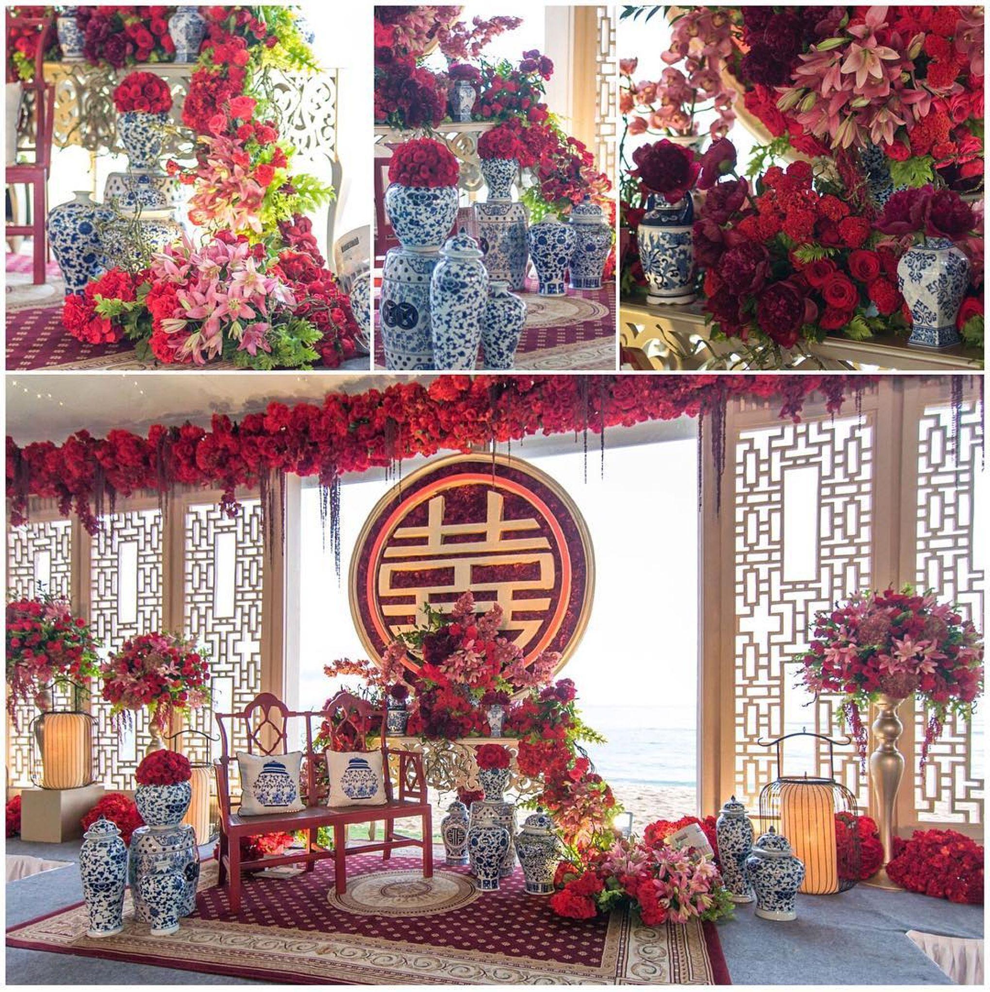 Vietnamese Wedding Altar: William & Cory Wedding By Lotus Design - 005