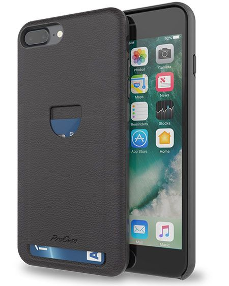 iphone 8 phone case with card holder